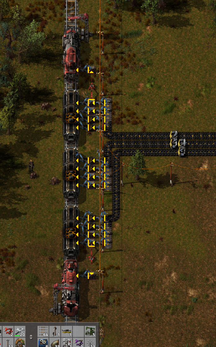 dual stop station