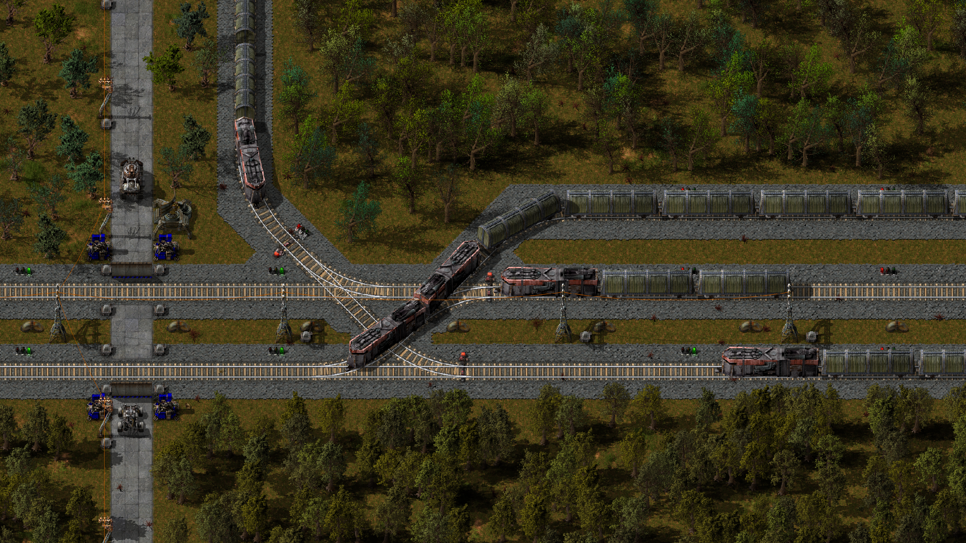 The level crossing!